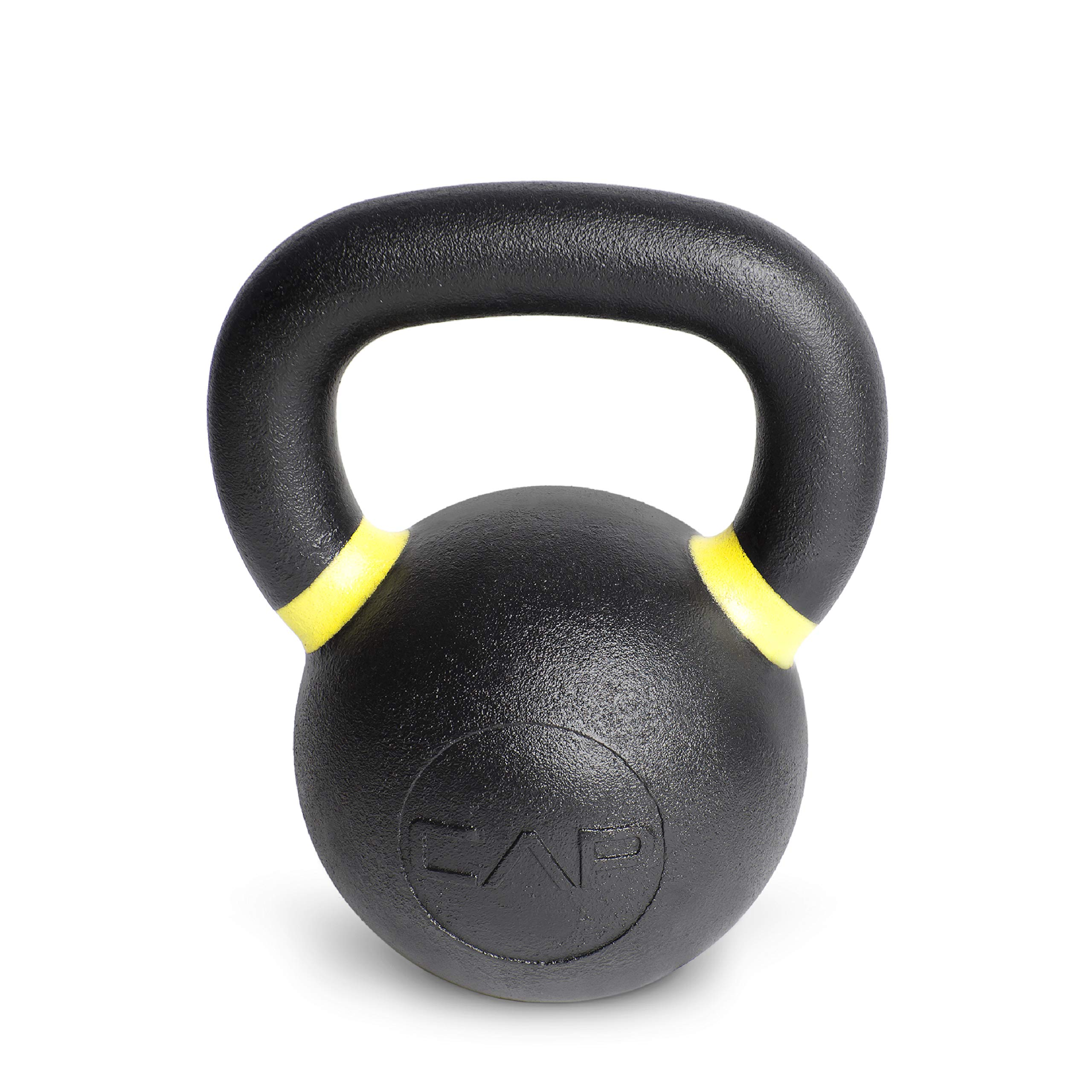 CAP Barbell SDK5-035 Cast Iron Competition Kettlebell Weight, 35 lb., Yellow