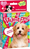 Peaceable Kingdom 28 Card Puppy Vanilla Scented Scratch & Sniff Valentines with Envelopes