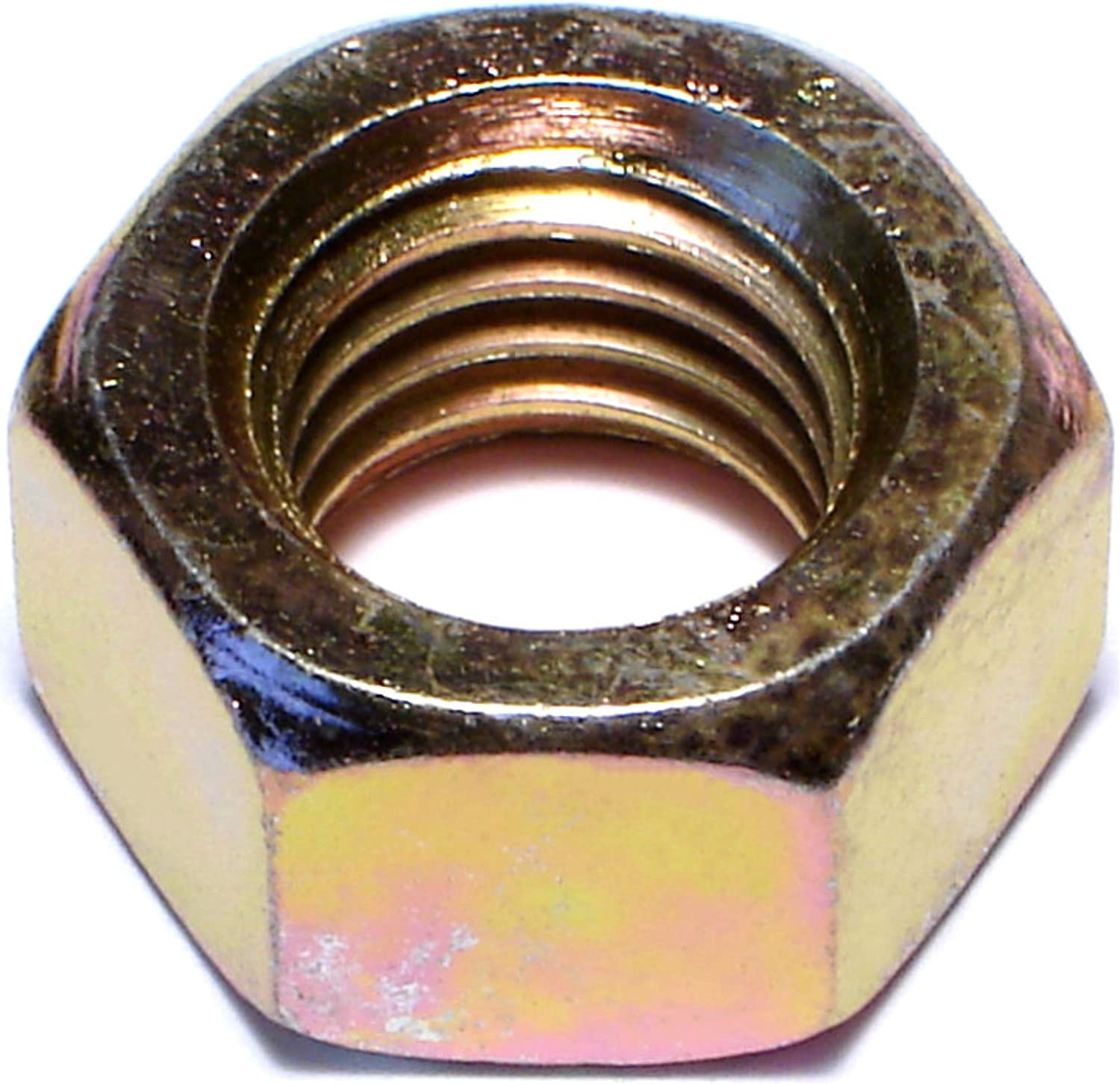 5//8-11 Flange Lock Nuts Yellow 5 5//8-11x2 Grade 8 Hex Flange Bolts /& 5