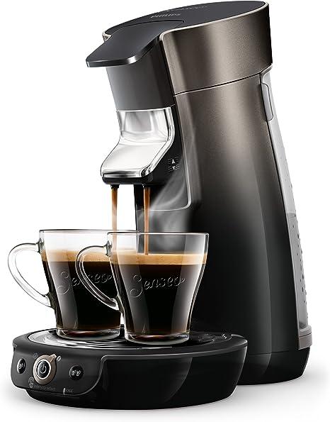 Senseo Viva Café HD6566/50 - Cafetera (Independiente, Cafetera de filtro, 0,9 L, Dosis de café, 1450 W, Negro): Amazon.es: Hogar