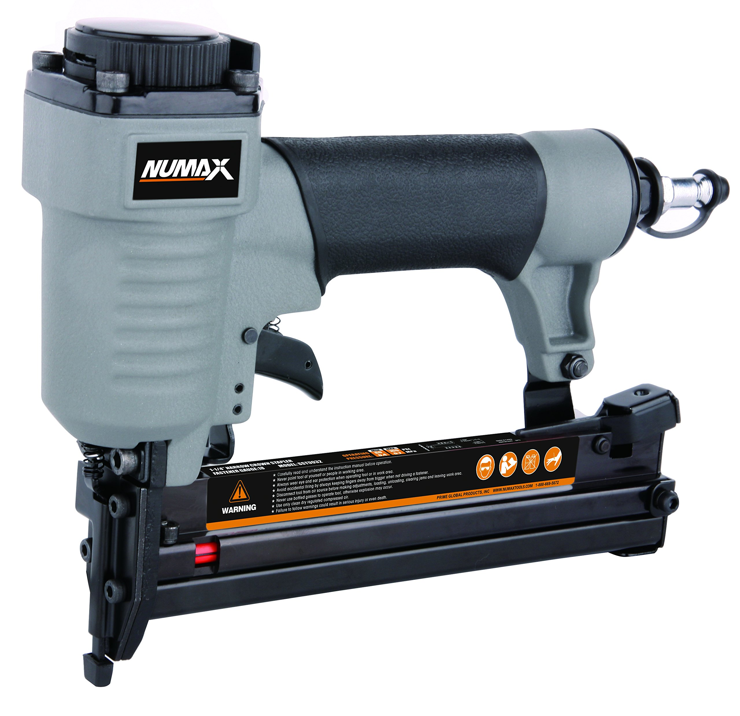 NuMax SST9032 18-Gauge 1-1/4-Inch Narrow Crown Stapler