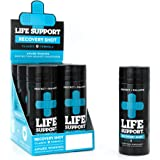 Hangover Prevention Drink - Life Support Blue Label with DHM from the Japanese Raisin Tree, Glutathione, Vitamin B+C (6-Pack - 3.4oz Bottles)