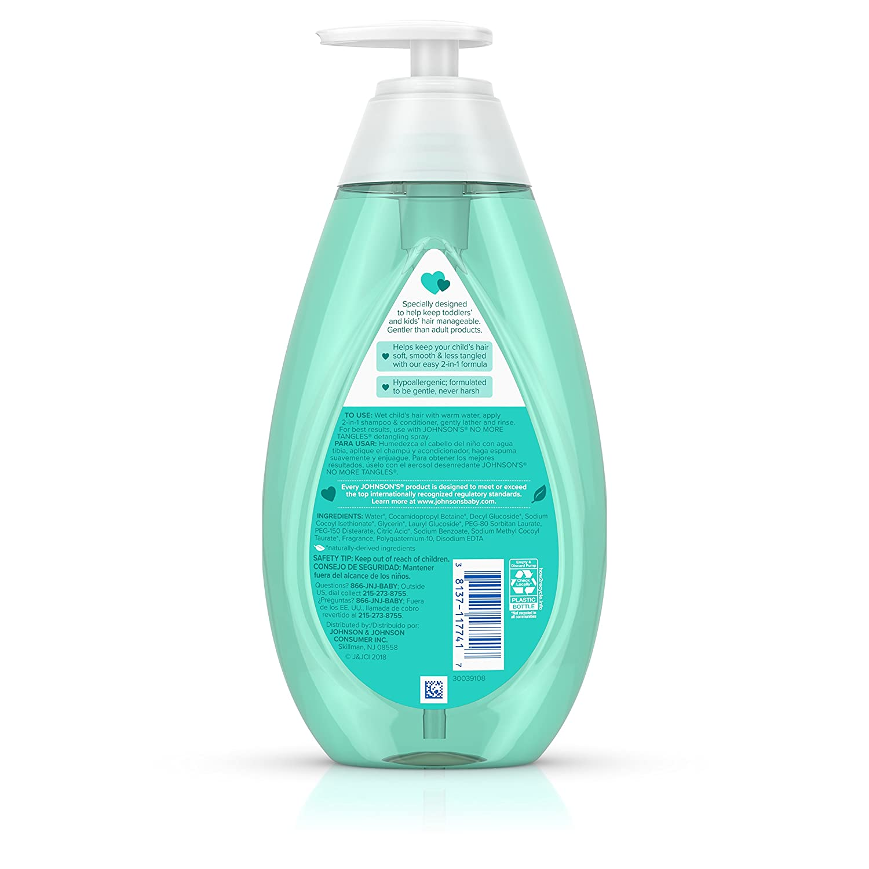 6 X Kids No More Knots Shampoo Tear Free Detangler Condition Gentle Orange Scent Shampoos & Soaps Shampoos & Conditioners