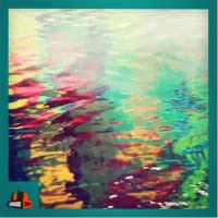 Water Colors - Colorful water waves