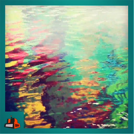 Water Colors - Colorful water waves (Scuba Diver Waves)