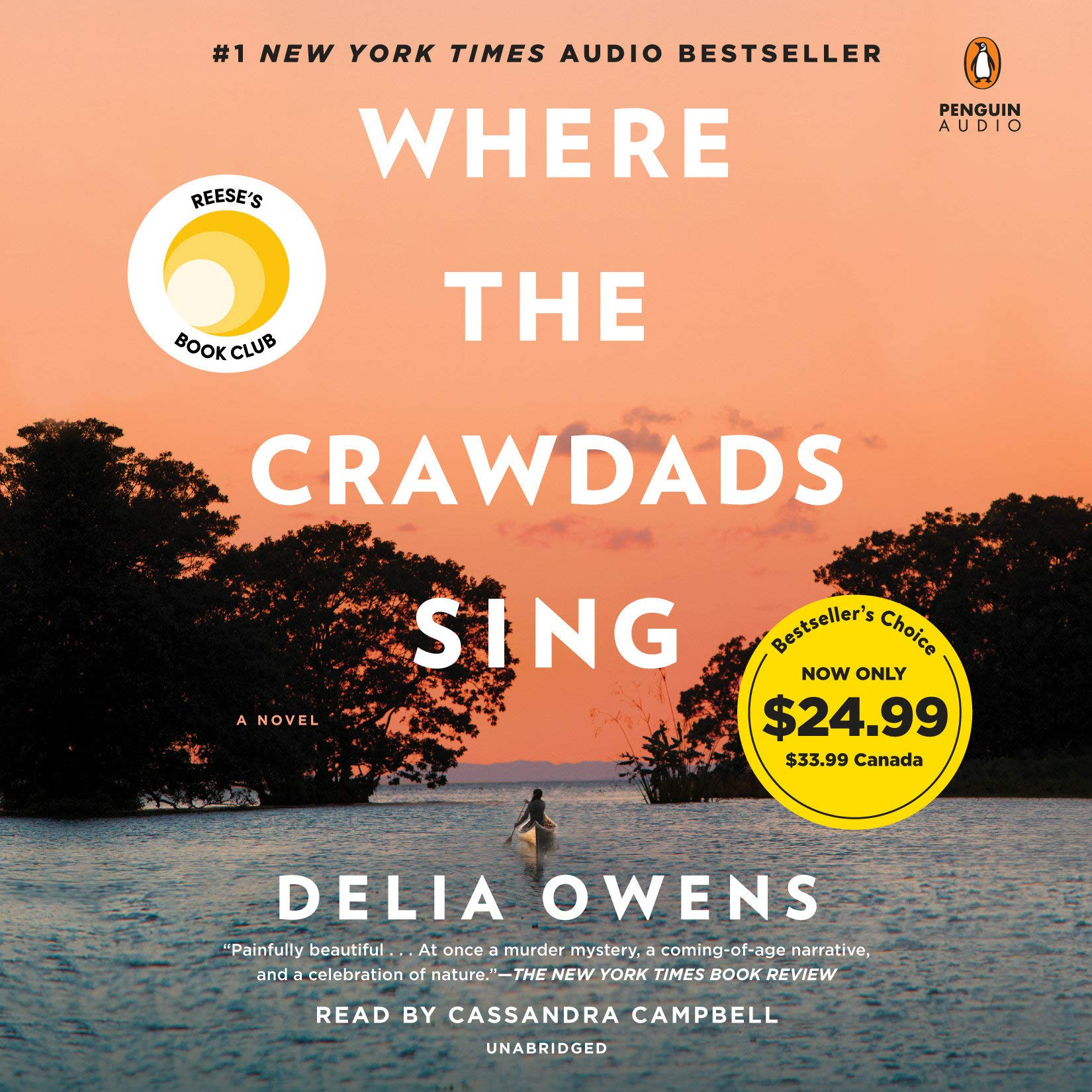 Where the Crawdads Sing by Penguin Audio