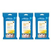Dr. Brown's Nose and Face Wipes, 30 Count, 3-Pack