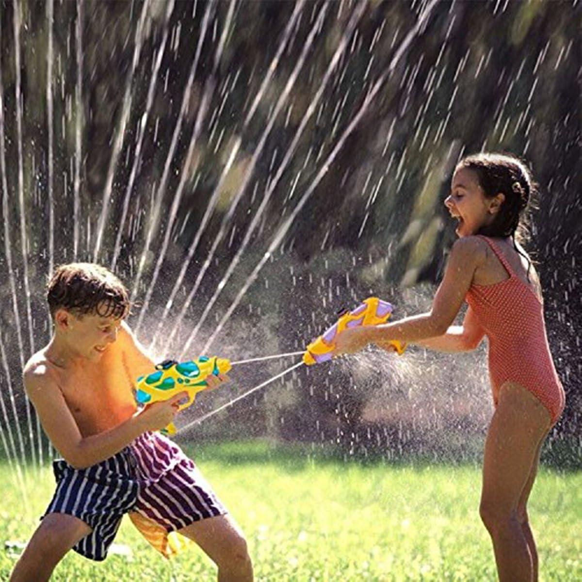 PluieSoleil Pistola de Agua 2 PCS Azul y Rojo Juguetes y Juegos Aire Libre y Deportes para Niños (B): Amazon.es: Juguetes y juegos
