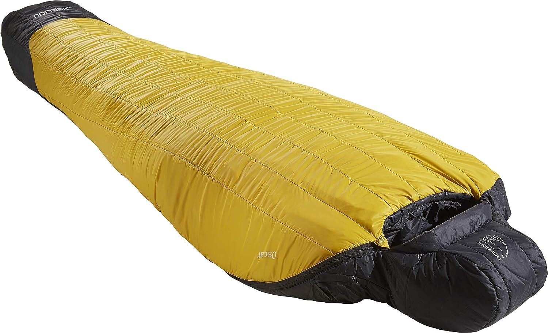 Leichter Kunstfaser-Schlafsack mit kleinem Packma/ß -20 Grad Gelb Verschiedene Ausf/ührungen weiterer Mumienschlafsack 10 Grad Oscar Schlafsack -10 Grad -2 Grad Nordisk