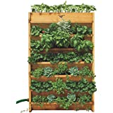 Gronomics VG3245 Vertical Garden Planter, 32-Inch by 45-Inch by 9-Inch