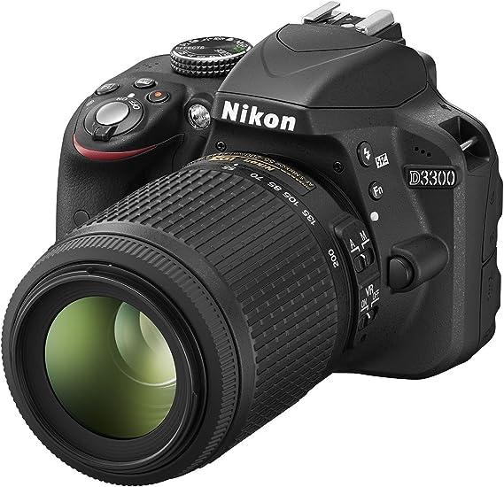 Nikon Kit D3300 - Cámara Réflex Digital D3300 con Objetivos AF-S ...