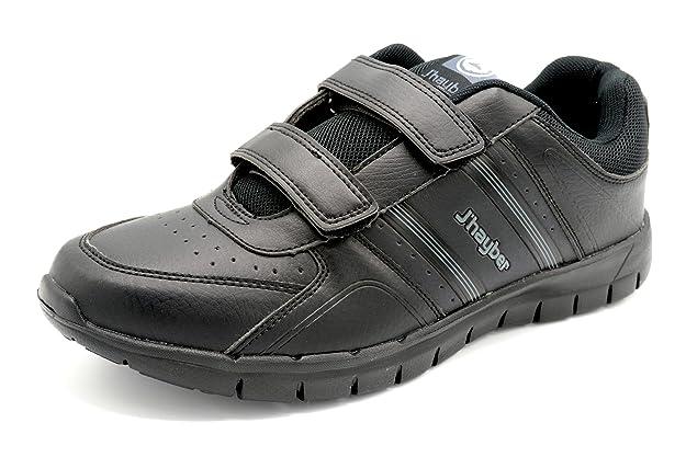 Jhayber JHayber Chalado Black - Zapatilla Deportiva de Velcro con Plantilla Foam.: Amazon.es: Zapatos y complementos