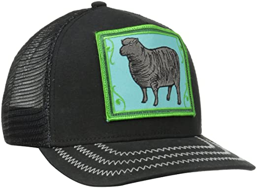 adfff6ef Goorin Bros. Men's Animal Farm Baseball Dad Hat Trucker, Black, One Size