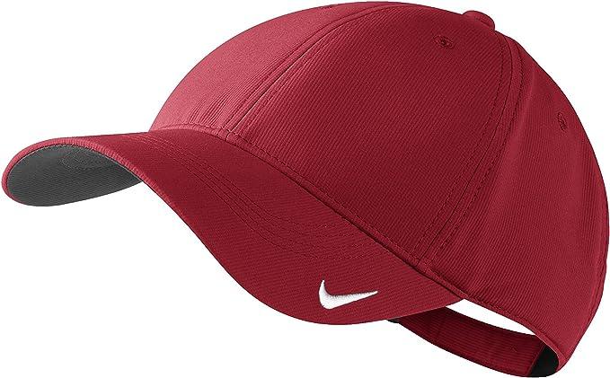 Gorra Nike Golf Rojo rojo: Amazon.es: Deportes y aire libre