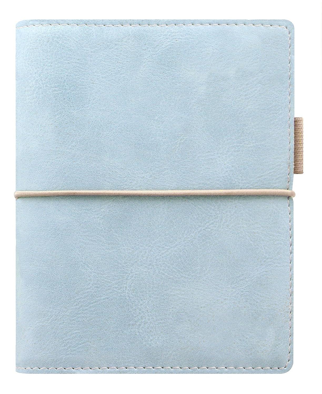 Filofax Domino SOFT - Agenda archivador de bolsillo (con anillas), color azul: Amazon.es: Oficina y papelería