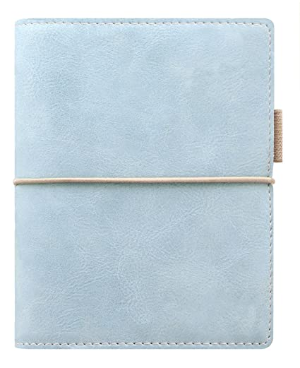 Filofax Domino SOFT – Agenda archivador de bolsillo (con anillas), color azul