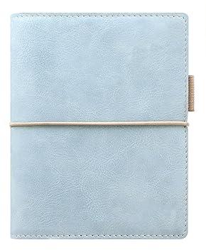 Filofax Domino SOFT – Agenda archivador de bolsillo (con anillas), color azul