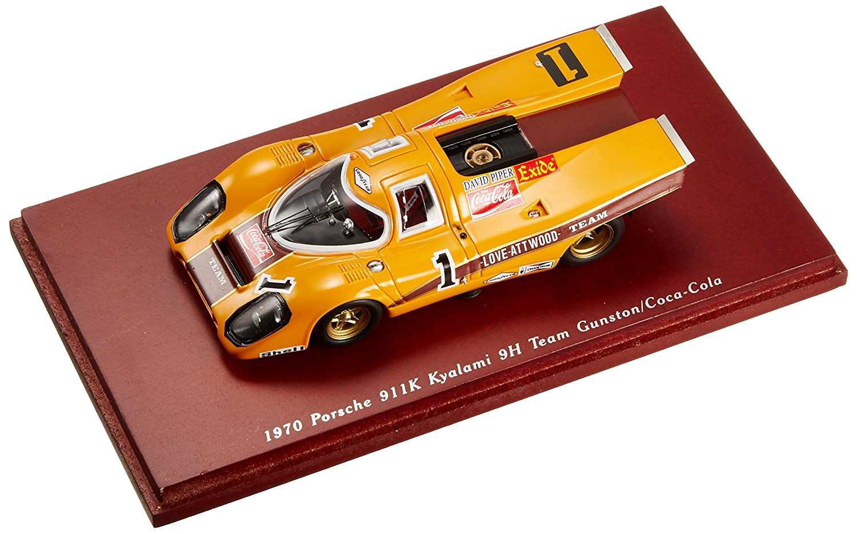 TRUE SCALE 1/43 1970 Porsche 911K Kyalami 9H Team Gunston Coca Cola (japan import)