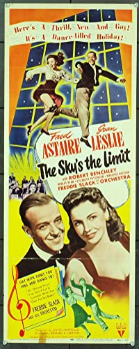 The Sky's The Limit (1943) Original Movie Poster at Amazon's ...