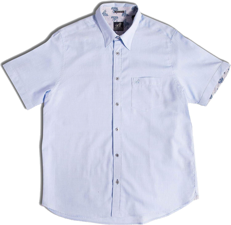 Caledon Club Clothing - Camisa Oxford para padre e hijo, 100 ...