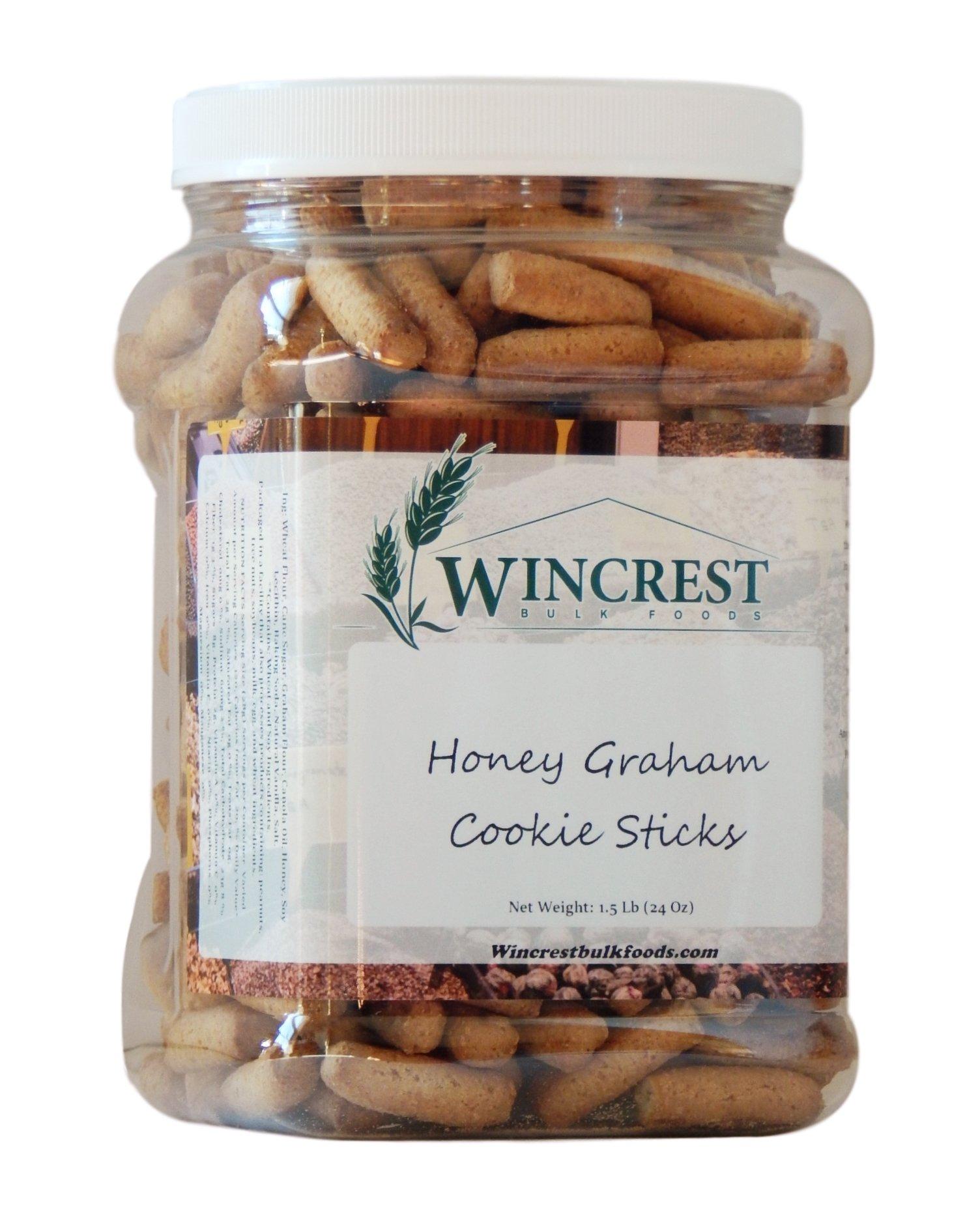Honey Graham Pretzel Sticks - 1.5 Lb Tub
