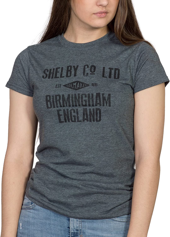 Jolly Good Tees - Camiseta - para Mujer Gris Oscuro Heather ...