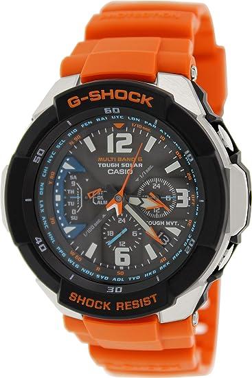 86b7feecffbc Casio G-Shock Funk - Reloj analógico de caballero de cuarzo con correa de  resina