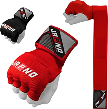 Padded Wraps Boxing Muay Thai Protector Inner Bag Bandage Hand Quick Gloves MMA