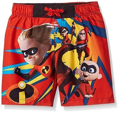 a68ccdaead Amazon.com: Disney Boys Incredibles Swim Trunk: Clothing