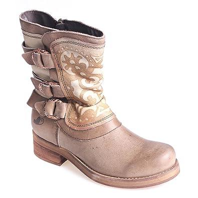 hot sale online 453d6 28186 Felmini Women's Biker Boots: Amazon.co.uk: Shoes & Bags