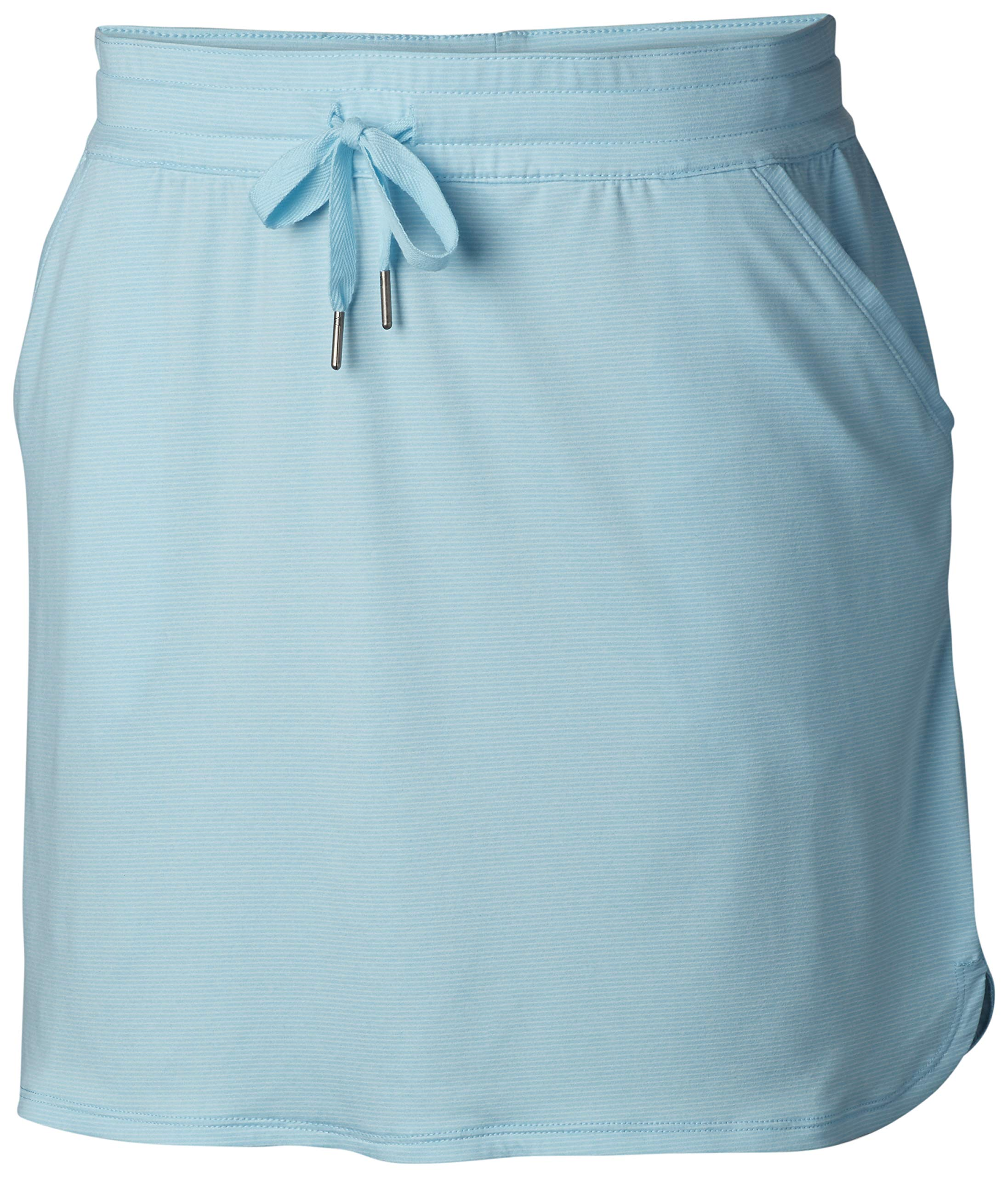 Columbia Women's Reel Relaxed Skirt, Coastal Blue, Small by Columbia