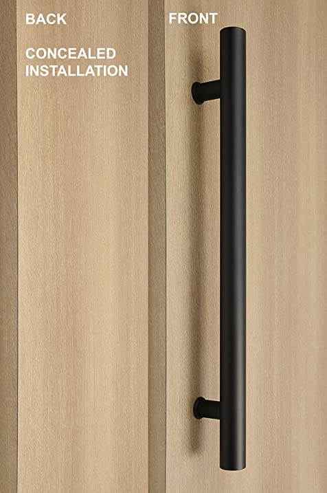 Modern u0026 Contemporary Ladder Style / One Single Sided / CONCEALED Fixing / Door Pull Handle & Modern u0026 Contemporary Ladder Style / One Single Sided / CONCEALED ...