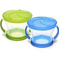 2-Pack Munchkin Snack Catcher (Blue/Green)