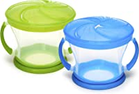 Best Sellers in Baby Food Storage Containers. #1. Munchkin 2 Piece Snack Catcher Blue/Green  sc 1 st  Amazon.com & Amazon Best Sellers: Best Baby Food Storage Containers