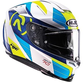 Casco Moto Hjc Rpha 70 Azul (Xs , Azul)