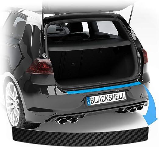 Blackshell Ladekantenschutz Folie Passend Für Mercedes Glc Typ X253 Bj Ab 2015 Carbon Matt Passgenaue Lackschutzfolie Inkl Profi Rakel Für Folie Auto