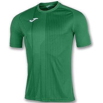 KiarenzaFD Joma Camiseta Tiger M/C Verde Fútbol Fashion Camiseta para Hombre, 100945_450_4XS-