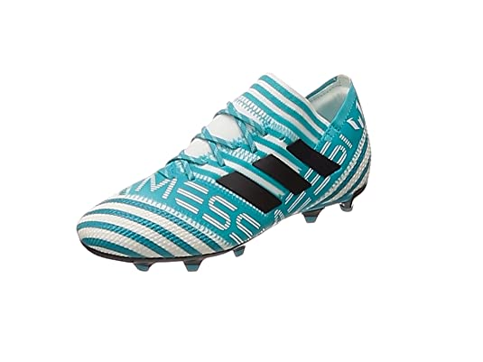 adidas Nemeziz Messi 17.1 FG J, Zapatillas de Fútbol para Niñas, (FTWR White