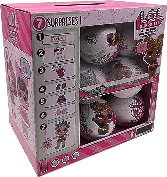 L.O.L. Surprise! – 7 18 pcs Display LOL 7 Surprises Serie Especial Glitter, 30408: Amazon.es: Juguetes y juegos