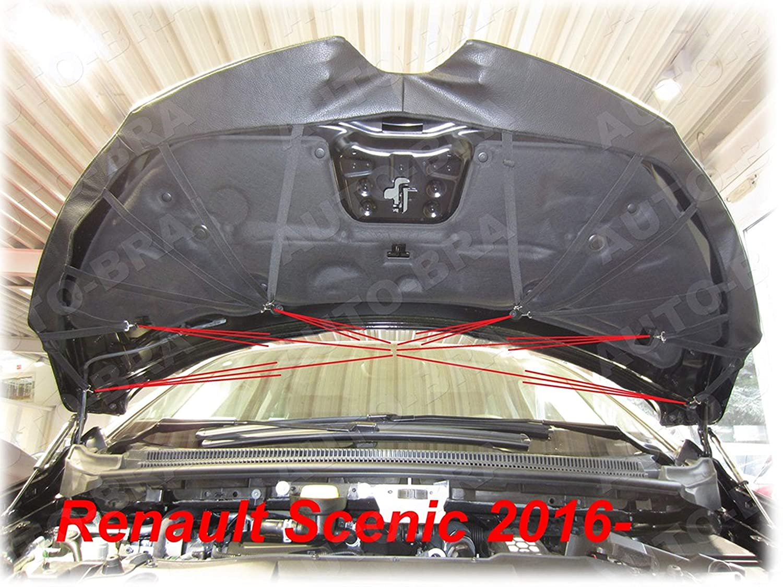 Haubenbra Steinschlagschutz Tuning Bonnet Bra AB3-00066 BRA Scenic 16