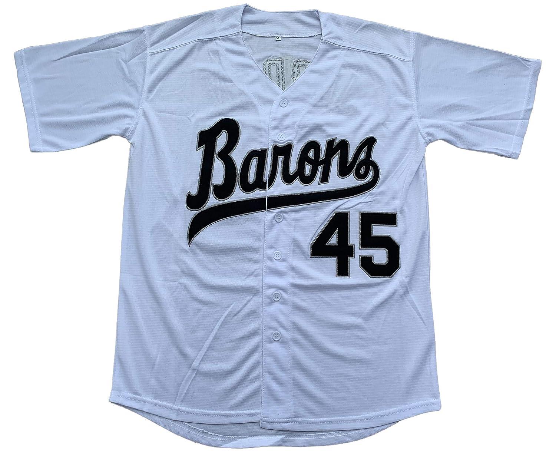 Michael Jordan #45 Birmingham Barons New Men Baseball Jersey Black Any Size