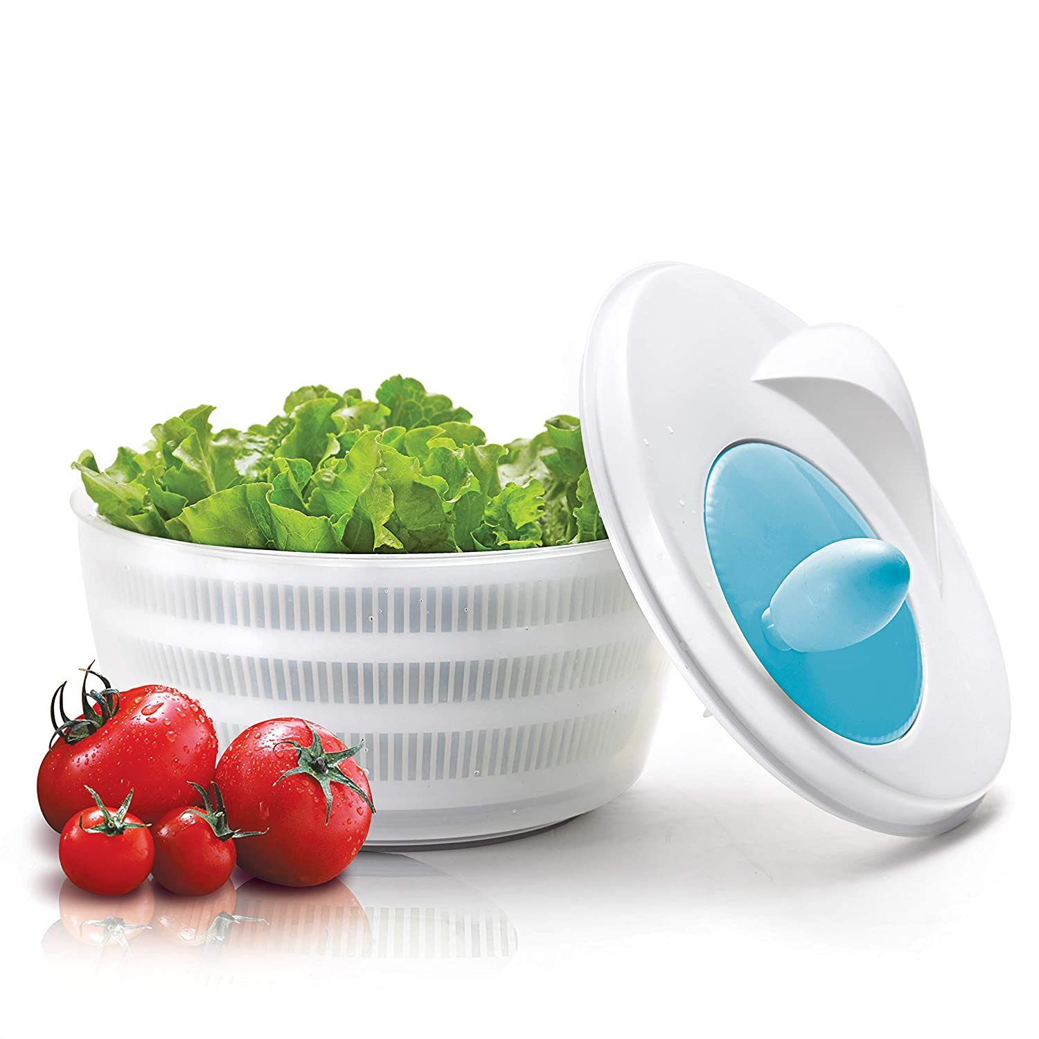Salad Spinner Quick Drain and Dry Fruit Vegetable Storage