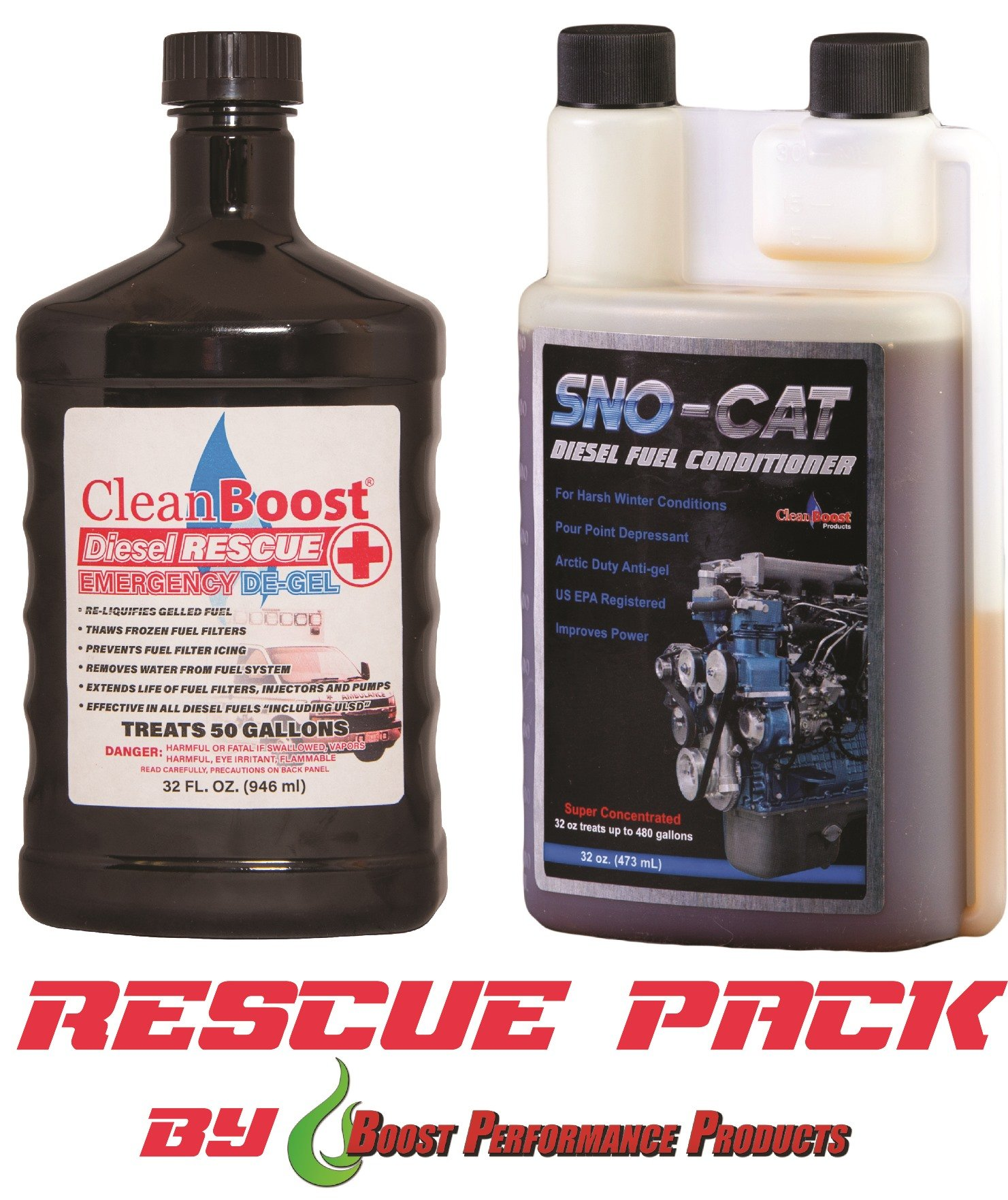 CleanBoost® Diesel Rescue™ 32oz Combo by Boost Performance Products