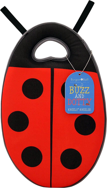 Burgon & Ball Buzz and Dotty Kneelo Kneeler Garden Cushion Knee Pad Ladybird