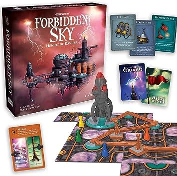 Gamewright Forbidden Sky Game, alfonbrilla para ratón: Amazon.es ...