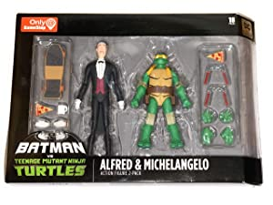 DC Collectibles Batman VS TMNT - Alfred & Michelangelo