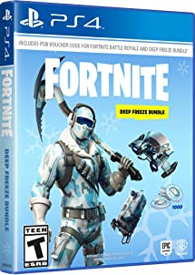 Amazon Com Warner Bros Fortnite Deep Freeze Bundle Playstation - image unavailable