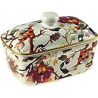 Leonardo Collection Campana Arriba Porcelana Fina Brillante Floral