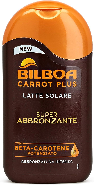 Bilboa Carrot Plus Latte Solare Super Abbronzante - 200 ml: Amazon ...
