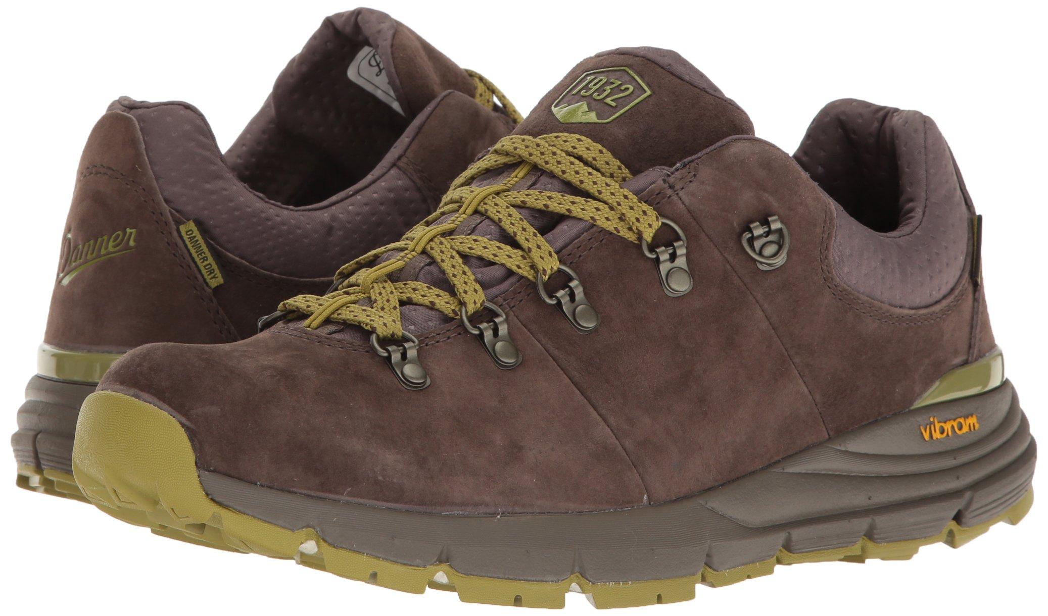 Danner Mens Mountain 600 Low 3 Dark Brown//Lichen Hiking Shoe